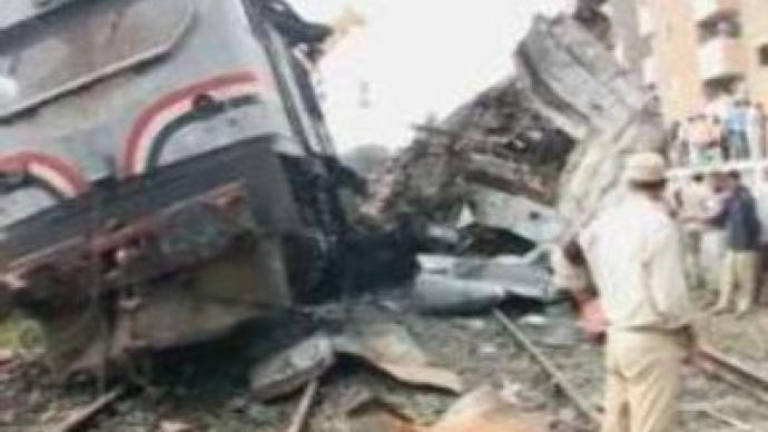 Egypt train crash: reports say 'signal missed'