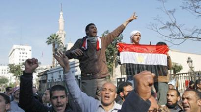 Professionals join in Egyptian uprising as Mubarak prepares to make new statement
