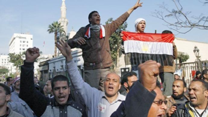 Egyptians surround parliament, blocking politicians' work