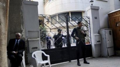 Striking Egyptians seek army exit