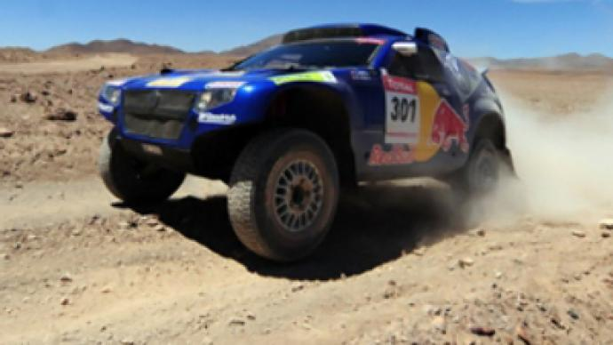 El Matador wins Silk Way Rally