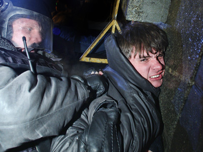Hundreds of people arrested at unsanctioned rally in Moscow (VIDEO)