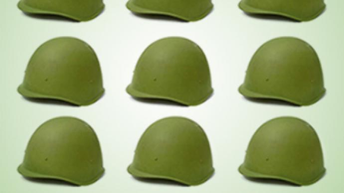 Eleven tons of stolen combat helmets flood market