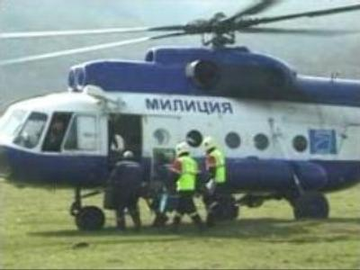 Emergency teams hold joint training in Caucasus Mountains