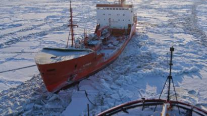 Friends in deed: US-Russia rescue mission cutting through ice
