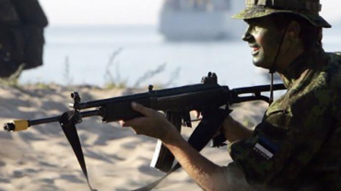 Estonia war games: 'Proud' memory of Nazi collaboration
