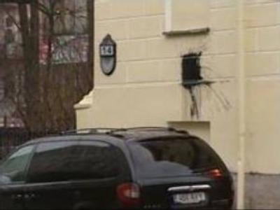 Estonian Consulate vandalised