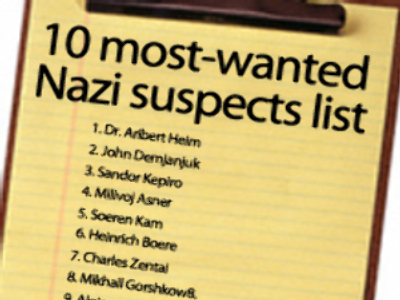 Estonia's former guest is 'wanted Nazi'