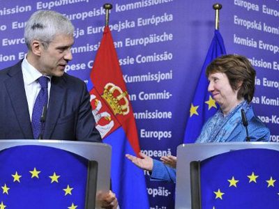 One step closer: EU ministers back Serbian membership candidacy