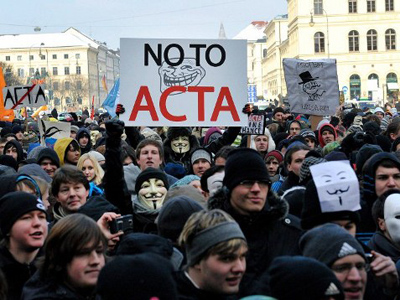 'ACTA's death would resonate worldwide'
