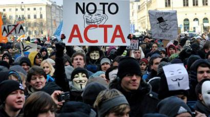 Caught in the ACTA: Protests sweep Europe
