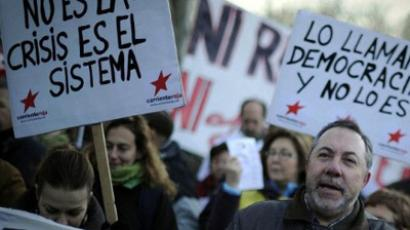 Labor rage: Arrests as General Strike locks Spain (VIDEO)