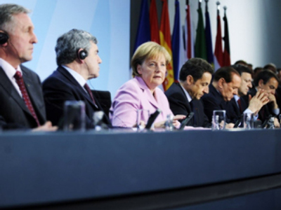 European G20 leaders seek common ground