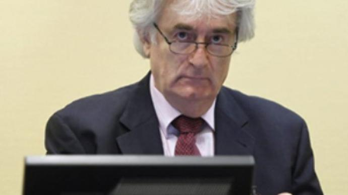 Key events in Bosnian war were fabricated - Karadzic