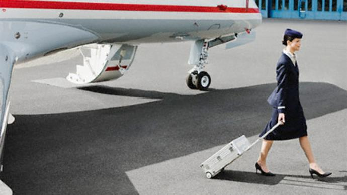 Excess baggage? That includes flight attendants!