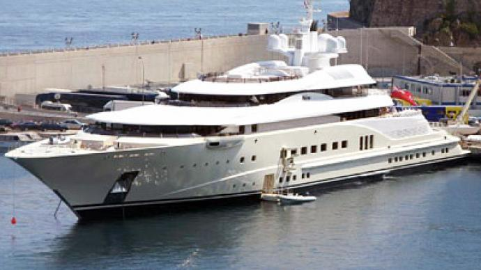World's most expensive yacht sets sail for Roman Abramovich