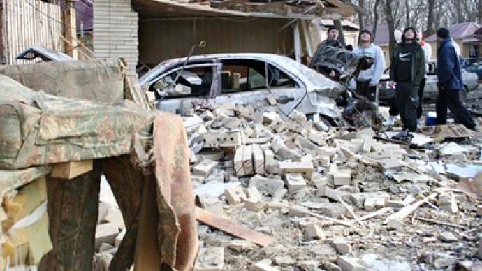 Explosion in North Caucasus aims to derail train