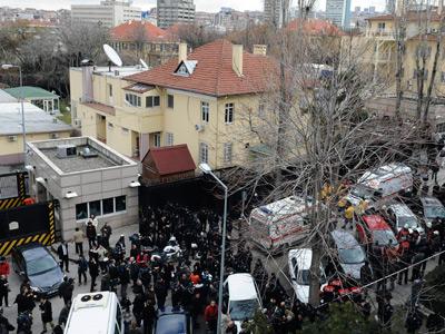 US Embassy bomber in Ankara had terror conviction, brain disorder