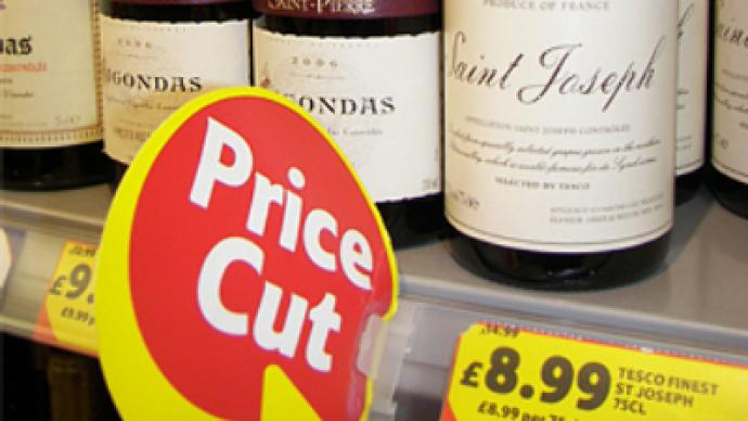 Fancy a tipple? Boozy Brits turn to wine in a crisis