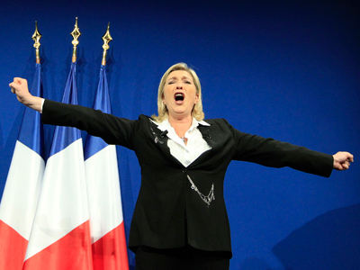 Far-right French voters to arbitrate heavyweight run-off