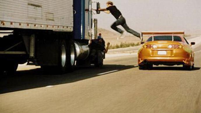 Fast and furious: highway hijack Hollywood-style