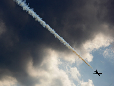 Rain dampens final day of MAKS air show