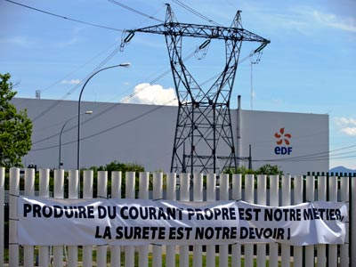 Alarm over incident at French Fessenheim nuclear plant