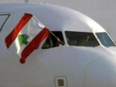 First flights for Beirut as blockade ends