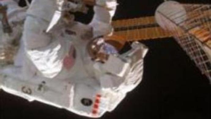 First of three testing spacewalks begins