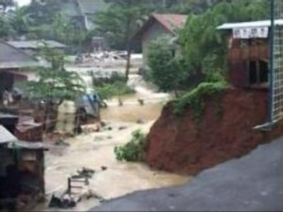 Five die in Indonesia floods