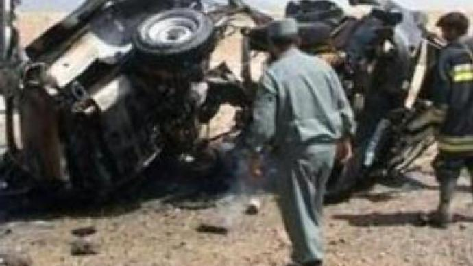 Five killed in attack on UN convoy in Afghanistan