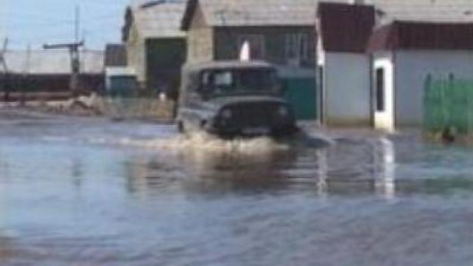Flood inundates Russian Republic of Sakha