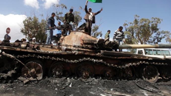 Libya torn to pieces by rebels, Gaddafi and coalition – all for peace