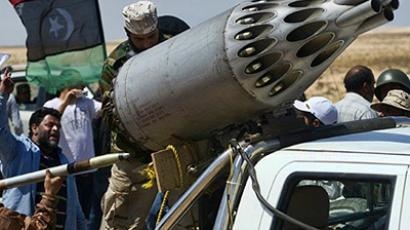 NATO using depleted uranium in Libya