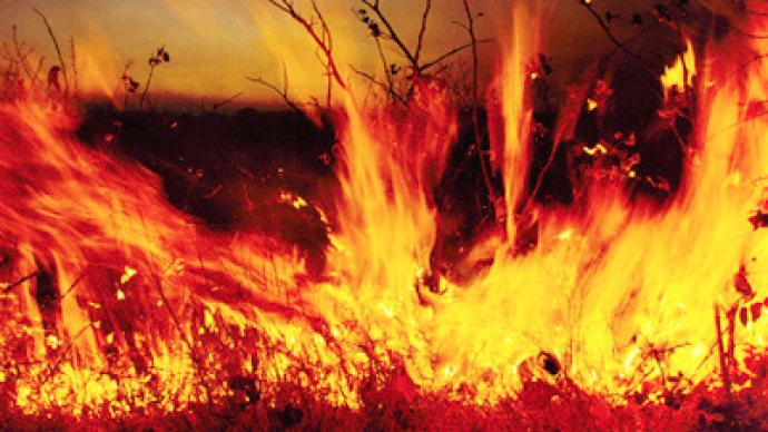 Heat and forest fires hit Siberia