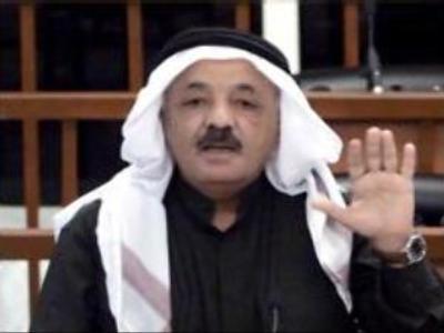 Former Iraqi vice president buried