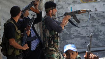 Aid for Syrian rebels: 'France taking US hitman role'