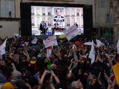 French Socialists heading to win parliament