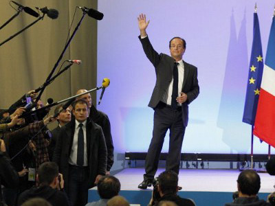 Hollande wins French presidency with 51.7% of votes