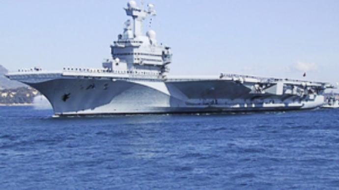 France sets up camp in the Persian Gulf