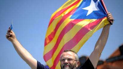 Over a million protesters demand Catalonian independence (VIDEO)