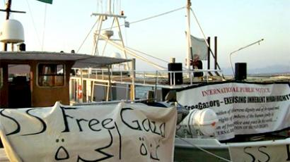 Greece arrests Gaza aid flotilla captain