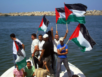 Gaza aid ship seized, towed to Israeli port