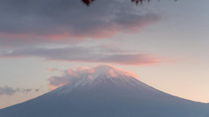 Fuji time bomb: Volcano to erupt under pressure
