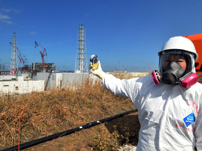 Japan sat on Fukushima data as people 'fled to radioactive zones'