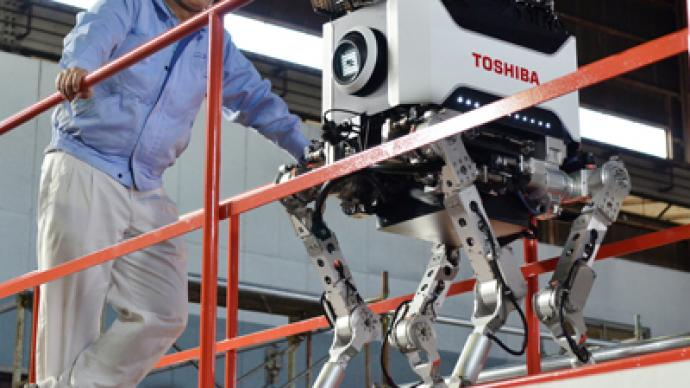Toshiba launches radiation-proof robot to clean up Fukushima