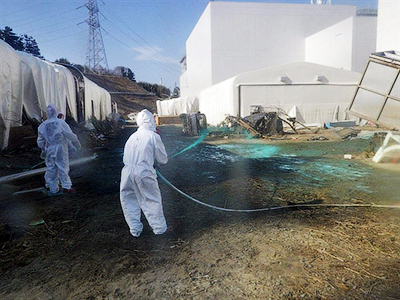Immeasurable levels of radiation reported at Fukushima plant