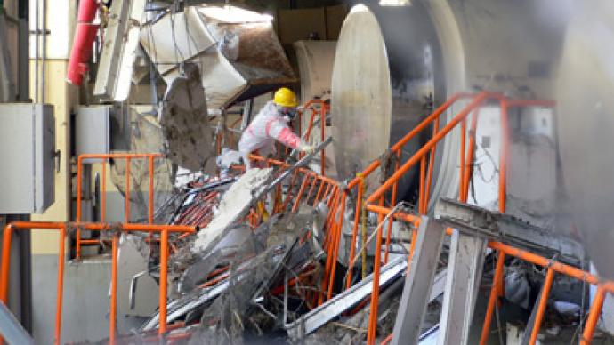 Inside Fukushima: TEPCO releases pics from inside nuclear plant after tsunami