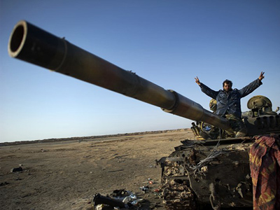 Angry Libyan rebels call on NATO for more support