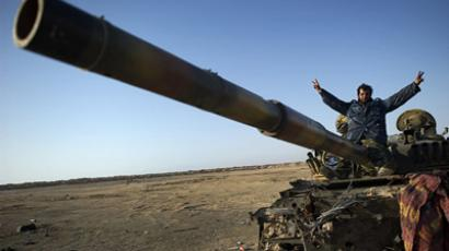 NATO under fire: Libyan rebels accuse alliance of slacking off